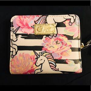 Betsey Johnson Unicorn Wallet